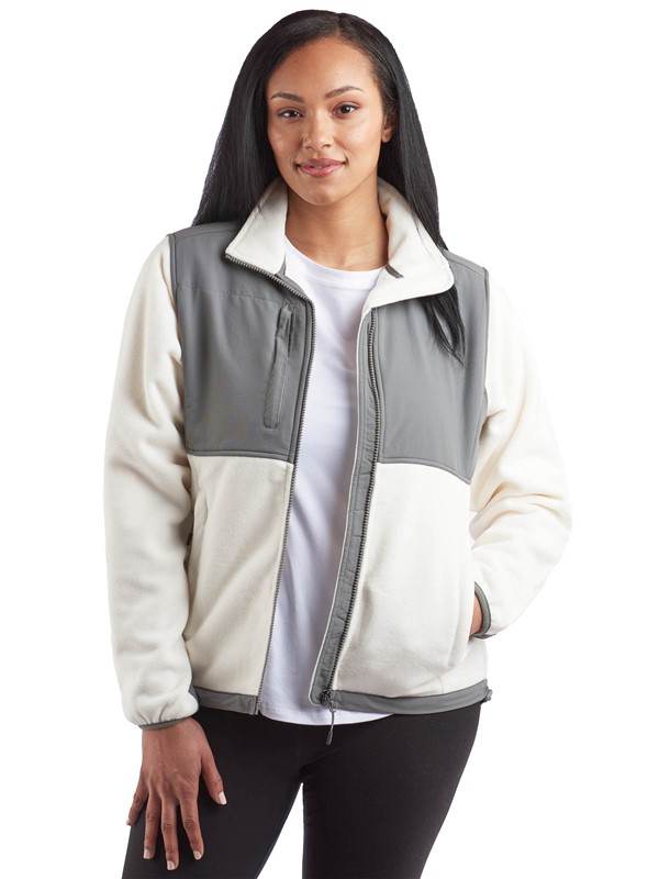 Microfleece Jacket with Nylon