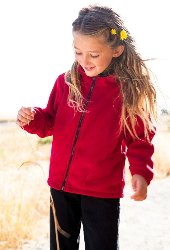 Premium Fleece Youth Jacket