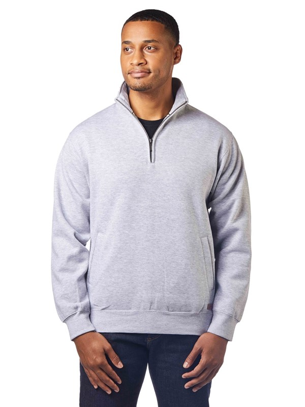 1/2-Zip Cotton Sweatshirt