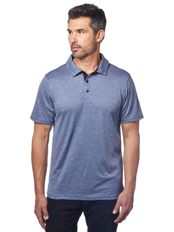 Melenage Snap-Button Polo