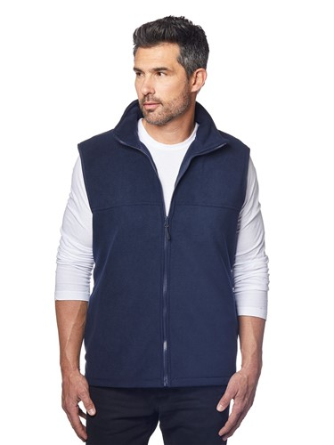 View Fleece vest