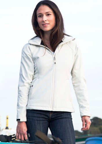 View Ladies Sherpa Hooded Matrix