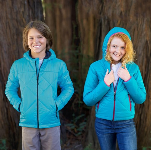 View Youth Hooded Puffer